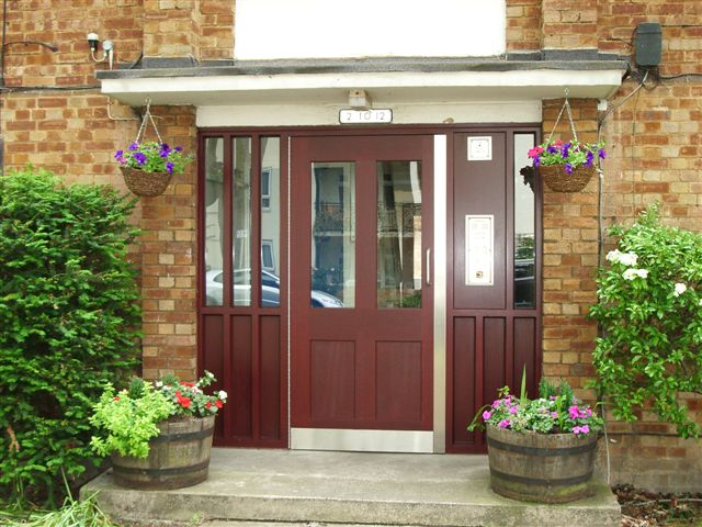 Related Products. Security Doors & Glazed timber communal security doors for housing association