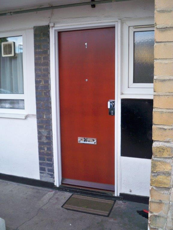 Security Front Entrance Doors For Council Housing