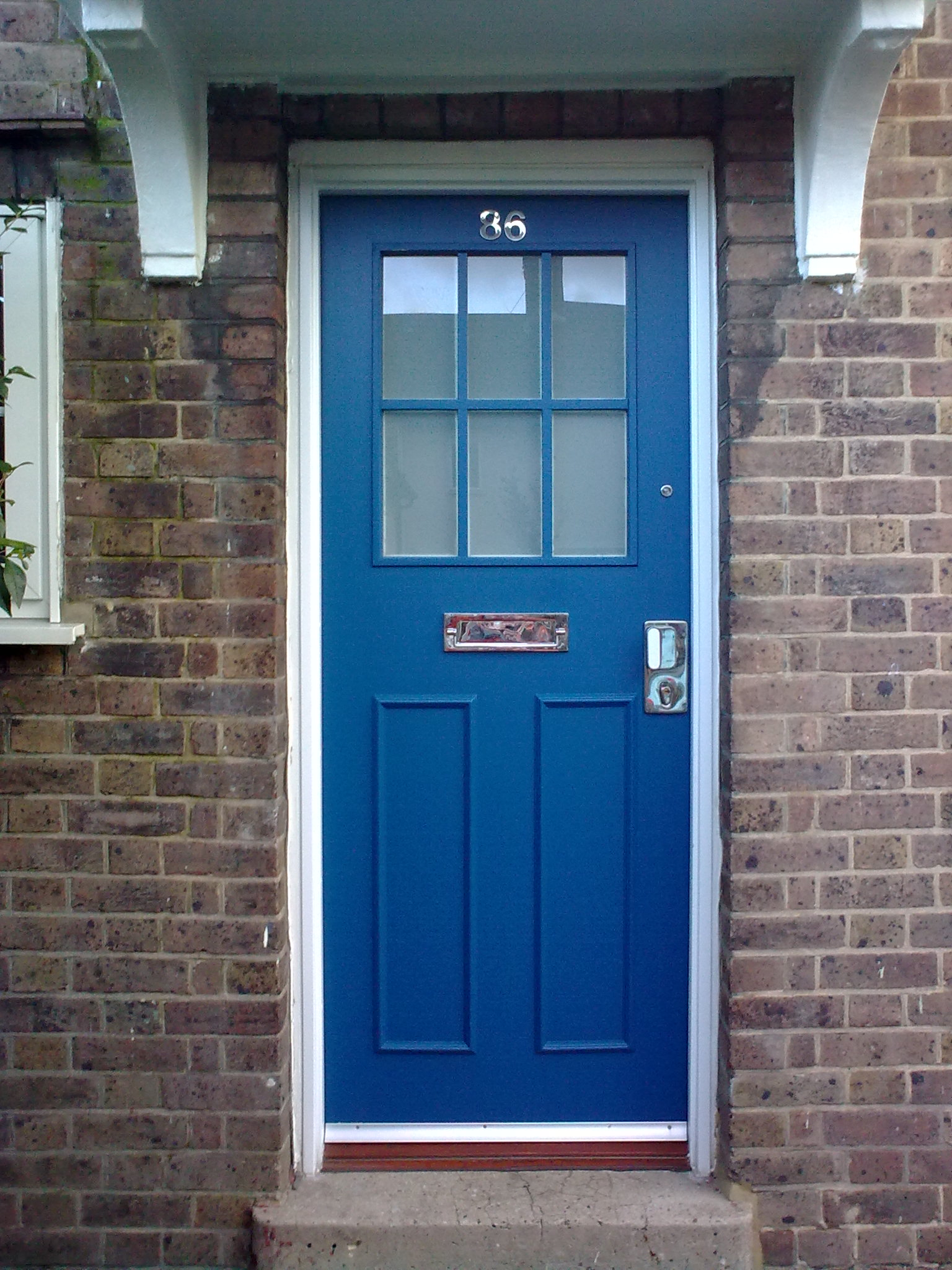 Front entrance security door considerations for councils for Front door security