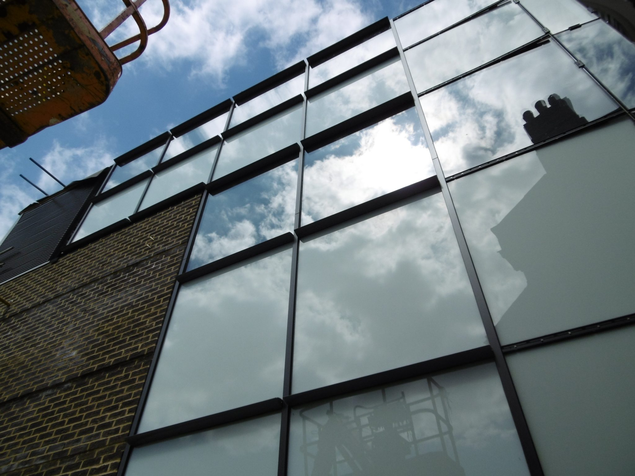 Aluminium Curved Curtain Walling Installed In Listed Building
