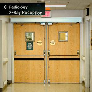 x ray doors