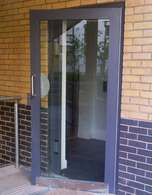 sbd integrity communal entry security door1