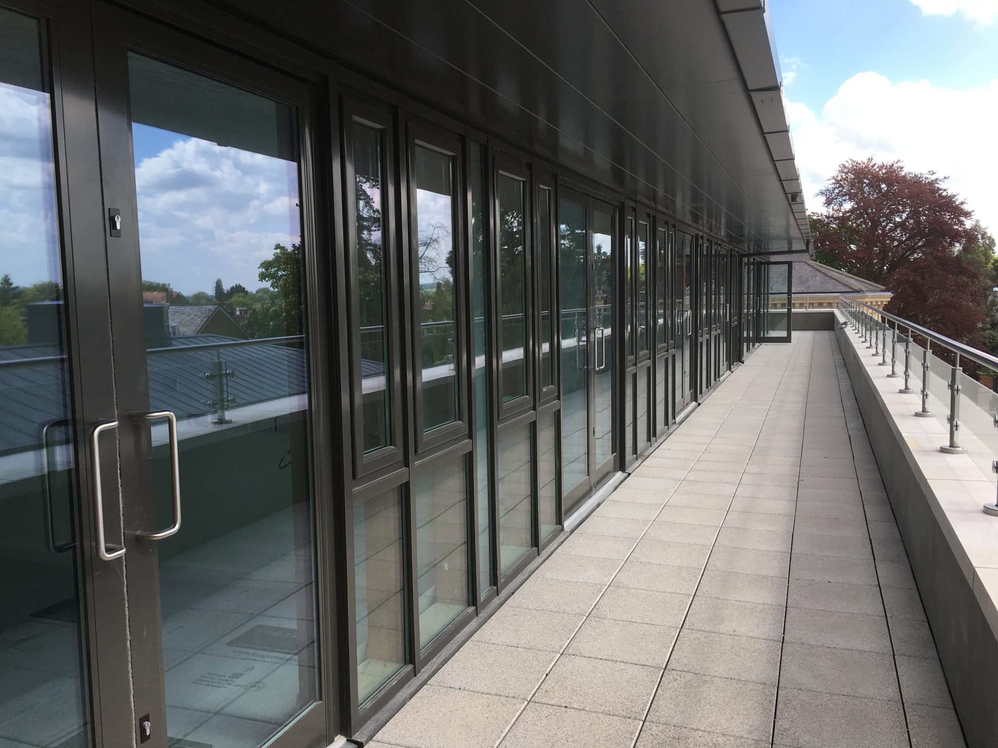 Curtain Wall, Windows and Security doors specified for the