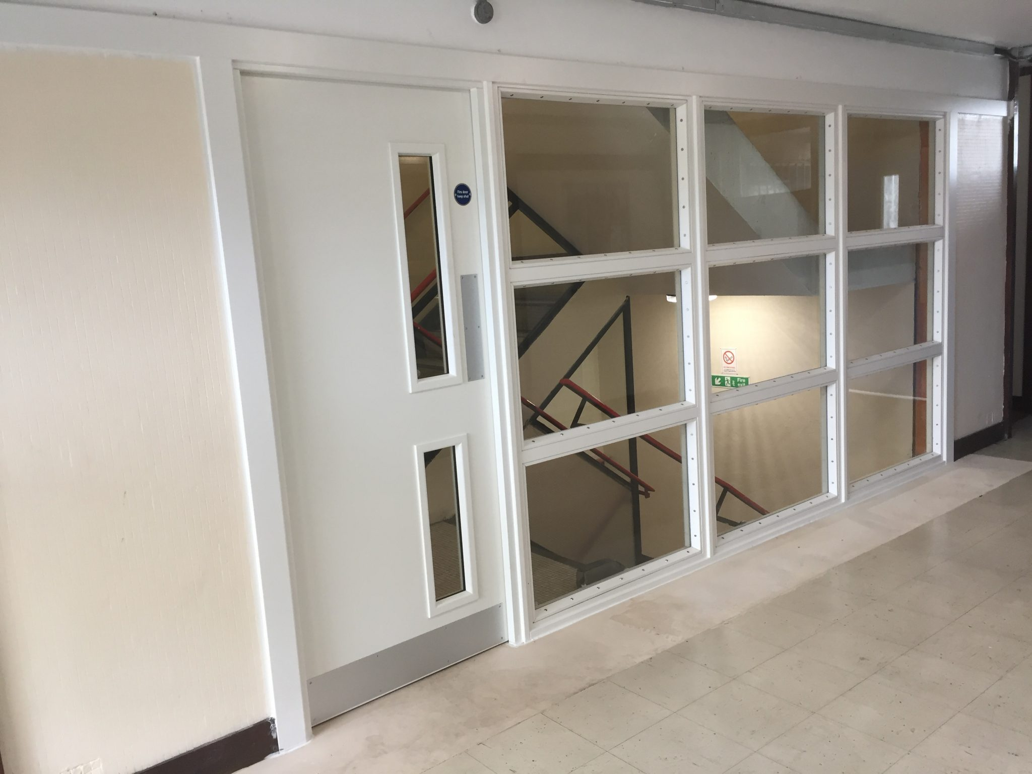 finest selection 78b2e e8fd9 FD60 doors and screens for tower blocks in London