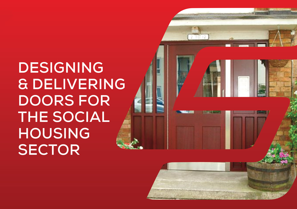 designing and delivering doors for the social housing sector