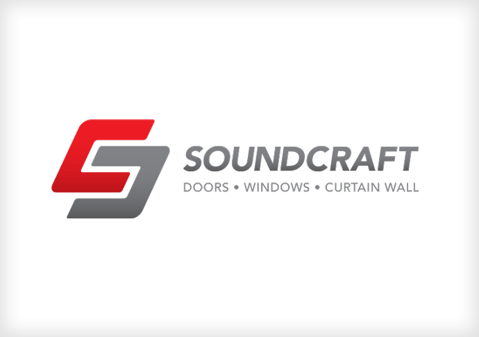 Soundcraft logo and products display